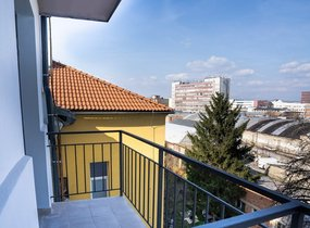 Pronájem, Byty 1+kk, 28m² - Brno - Zábrdovice