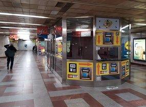 Obchodní prostor - metro Anděl, 13 m2