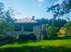 Prodej domu o vel. 50m² s pozemkem 1100 m2 a garáží 42m2, Jílové u Prahy - Radlík, ul. Na Spojce