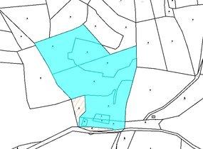mapa katastr II.