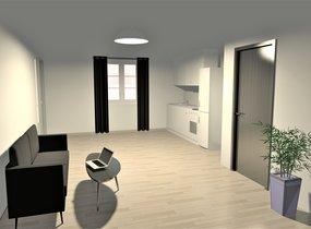 Pronájem bytu 1+kk v centru Brna  (cca 27,1 m²)
