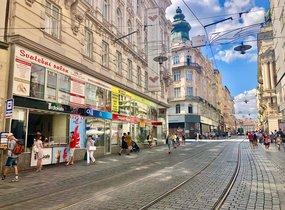 Pronájem obchodních prostor na ul. Masarykova (cca 48m²)