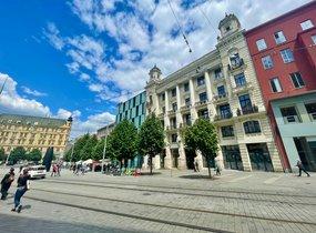 Pronájem restaurace na náměstí Svobody (cca 292 m²)