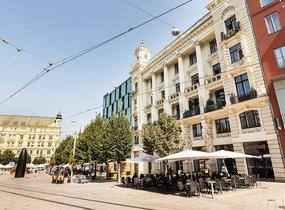 Pronájem obchodních prostor na náměstí Svobody (cca 416 m²)