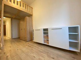 Pronájem, Bytu 1+kk, 33m² - Brno - Husovice