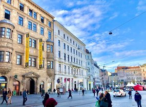 Pronájem obchodních prostor v pěší zóně (112,58 m²)