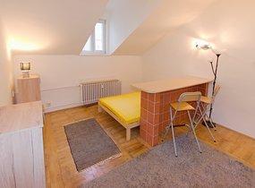 Pronájem bytu 1+kk, 23 m2 - metro Anděl