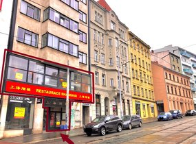 Pronájem zařízené restaurace (cca 294 m²) - Brno - ul. Pekařská
