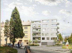 Prodej, Byty 3+kk, 92,4 m² s balkonem 9 m2, Brno - Černá Pole