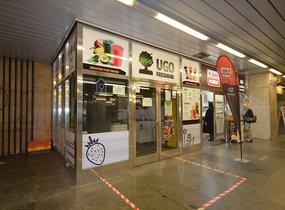 Obchod - metro Hradčanská, 12 m2