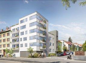 Prodej, Byty 2+kk, 56,6 m² s terasou 5,6m², Brno - Černá Pole