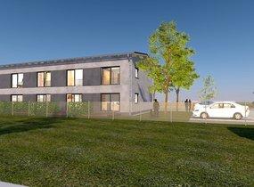 Prodej, Rodinné domy řadový 3+KK, 72m² s terasou a parkovacím místem - Ostrava - Hrabová