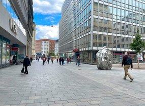 Pronájem obchodních prostor v centru Brna (cca 655 m²)