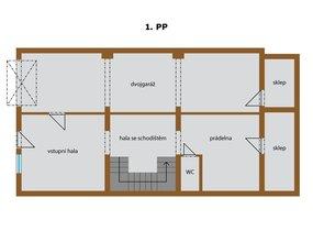 K prodeji nabízím řadový rodinný dům s obytnou plochou 264 m² - Praha 4 - Roztyly