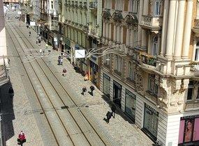 Pronájem bytu 5+1, 140 m² přímo v centru města - Brna