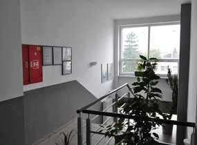schodiště kanceláře