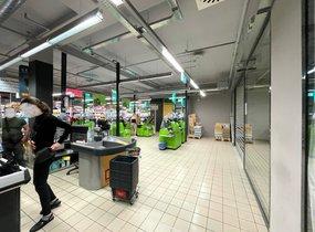 Pronájem obchodních prostor v centru Brna (cca 13,5m²)