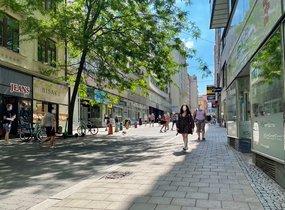 Pronájem obchodních prostor v pěší zóně (cca 721 m²)