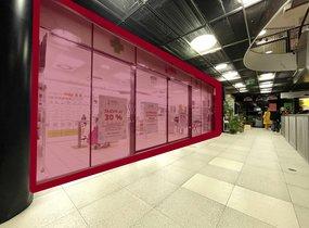 Pronájem obchodních prostor v nákupním centru (cca 95m²)