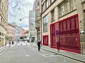 Pronájem obchodních prostor v pěší zóně (cca 240 m2)
