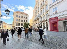 Pronájem restaurace v pěší zóně (188,5 m²)