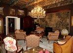 Prague palais living room