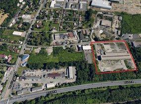 Prodej komerčního areálu Ostrava Kunčičky o rozloze 37 782 m2.