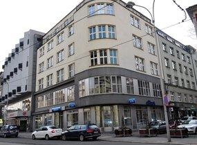 Pronájem, Komerční, Kanceláře, 105 m², na ul. Jurečkova v centru Ostravy.