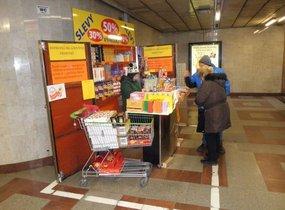 Pultový prodej - metro Anděl
