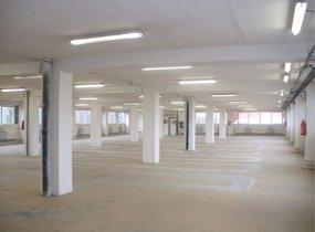 Pronájem suchého, vytápěného skladu o velikosti 380 m2, Praha 9 - H.P.