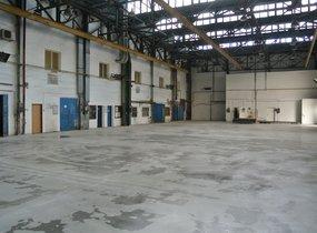 Výrobní hala, ul. U Řeky, Ostrava - Hrabová