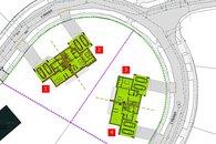 plánek domy rozmisteni