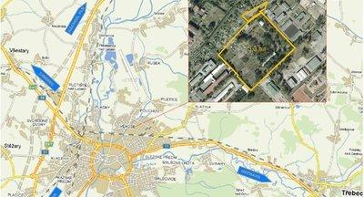 Prodej:Průmyslová zóna Pouchov
