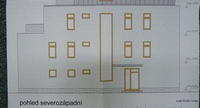 Projekt polyfunkčního domu v Poděbradech