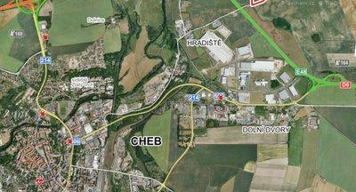 Průmyslová zóna Cheb