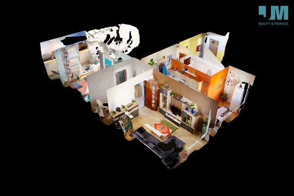 Prodej, Byty 2+1 s výtahem, lodžií a ve 4. patře 58m² - Třebíč - Nové Dvory