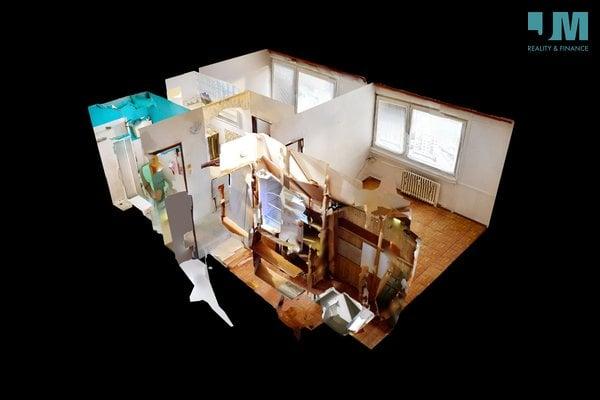 Pronájem, Byty 2+kk, 35m² - Třebíč - Řípovská - Borovina