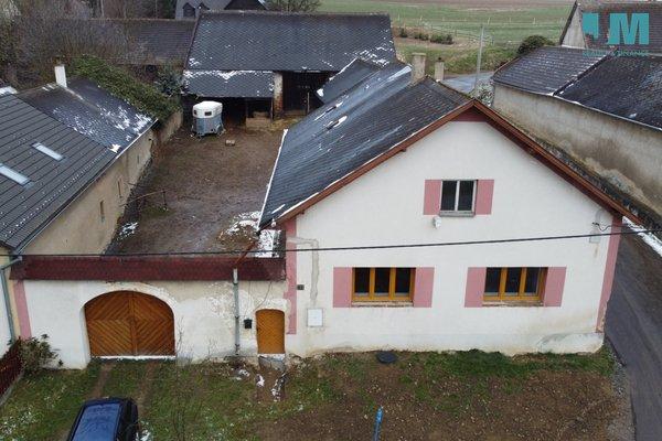 Prodej, Zemědělská usedlost, 100 m² - Vílanec - Loučky, plocha 1023 m2