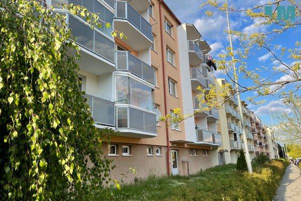 nabízí, pronájem, byty 1+1 Zahraničního odboje, Třebíč - Borovina