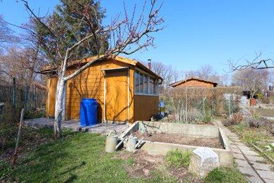 Prodej zahrádky s chatkou v zahrádkářské kolonii na Ostrově v Krnově, Ev.č.: 00100