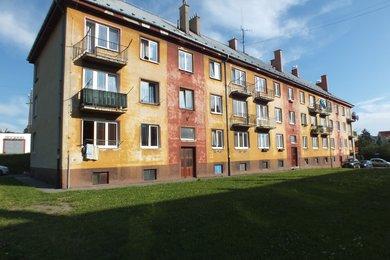 Prodej cihlové bytové jednotky o dispozici 3+1,64 m² v centru města Krnova na ulici Vodní, Ev.č.: 00006