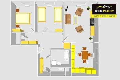 Prodej, Byty 3+1, 83m² - Opava - Kateřinky, Ev.č.: 00377