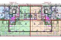 Vchod 10 a 11 - 4kk byt 2kk 89 m2 + terasa 54 m2