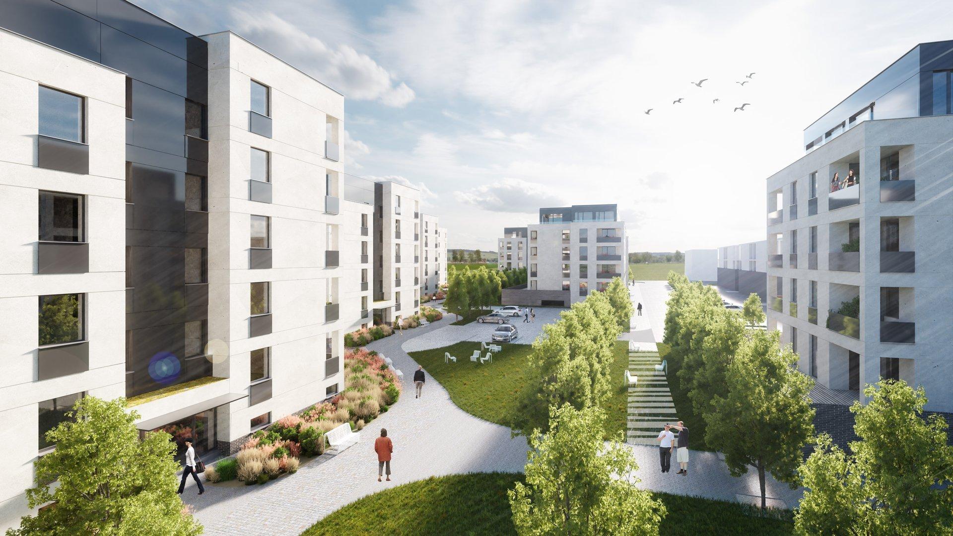 Nové byty v Opavě