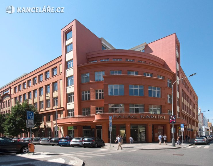 Kancelář k pronájmu - Thámova 183/11, Praha - Karlín, 549 m²