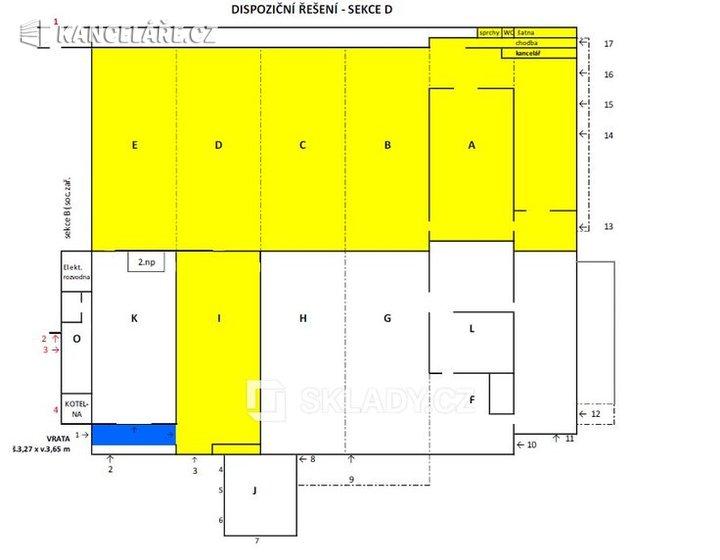 Sklad k pronájmu - Brno, 3 008 m² - foto 2