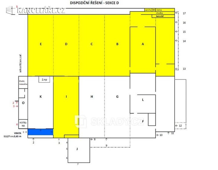 Sklad k pronájmu - Brno, 3 008 m² - foto 9