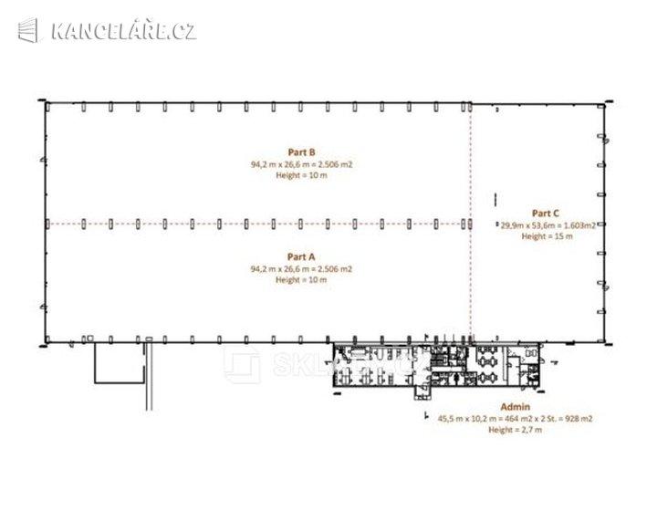 Sklad k pronájmu - Litovel, 1 603 m² - foto 1