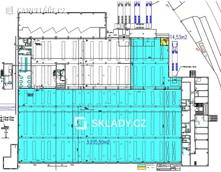Sklad k pronájmu - Chomutov, 1 200 m² - foto 2