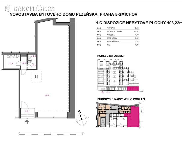 Obchodní prostory na prodej - Plzeňská, Praha, 103 m² - foto 2